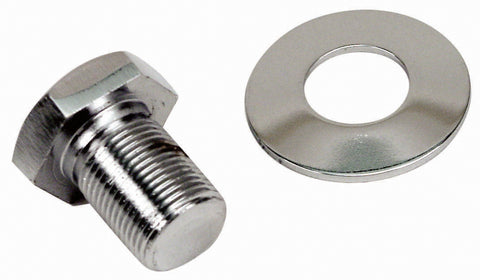 Classic VW Extra Long Chrome Pulley Bolt Empi 9118 - dubparts.com