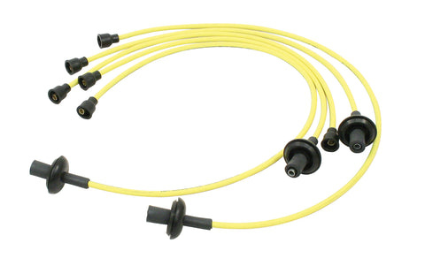 Classic VW Yellow Spark Plug Wire Kit Empi 9400