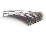 Classic VW Bus Short Roof Rack for type 2 Empi 15-2008 - dubparts.com