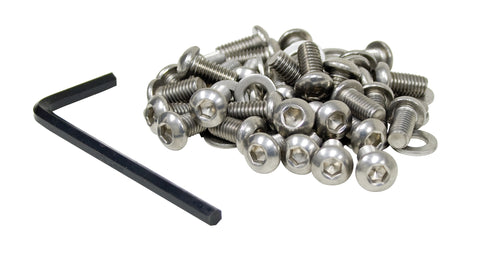 Classic VW Button Head Screw Kit Empi 17-2960 - dubparts.com