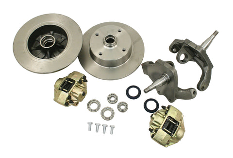 Classic VW Late Model Beetle & Ghia 4 Lug Drop Spindle Disc Brake Kit