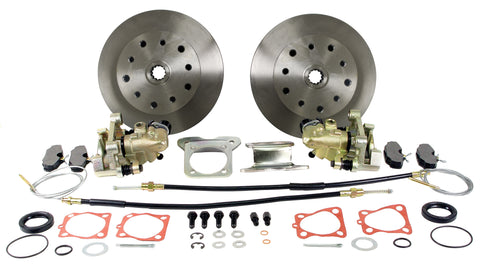Classic VW Rear Disc Brake Kit Double Drilled 22-2912 - dubparts.com