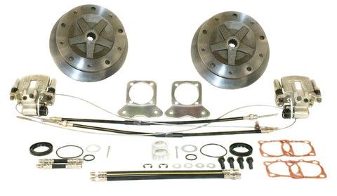 Classic VW Rear Wide Track IRS Disc Brake Kit Empi 22-2927 - dubparts.com