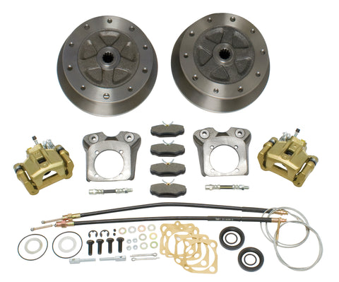 Classic VW Wide Track Rear Disc Brake Kit for Swing Axle Empi 22-2928 - dubparts.com