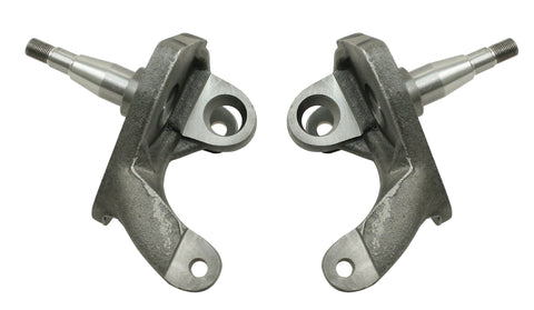 "Classic VW 2.5"" Drop Spindles for Ball Joint Disc Brakes"