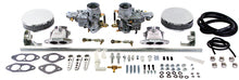 Classic VW Dual Weber 34 ICT Carb Kit for Type 3 Dual Port Empi 43-7311 - dubparts.com