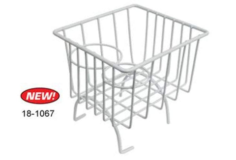 Classic VW Wire Basket Cup Holder Type 1 & Type 3 Ivory Empi 18-1067 - dubparts.com