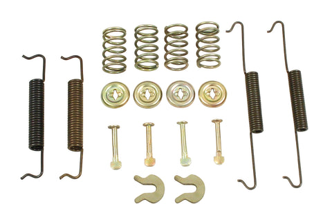 Classic VW Rear Drum Brake Hardware Kit Type 1 67-79 Empi 98-6990-B - dubparts.com