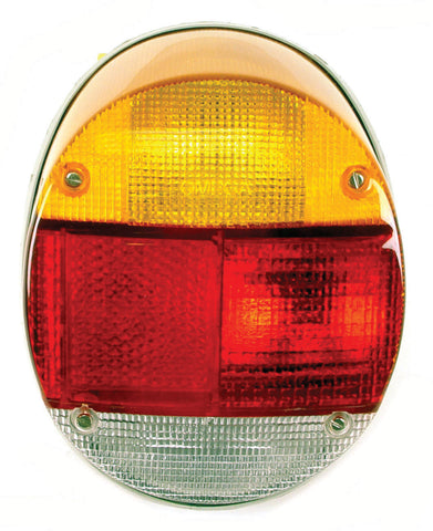 Classic VW LEFT Taillight Assembly Type 1 73-79 Empi 98-9455 - dubparts.com