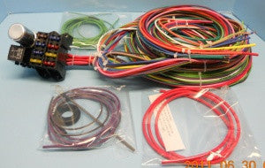 classic vw wiring harness and electrical components classic vw beetle wire harness basic kit type 1 type 3 type 181