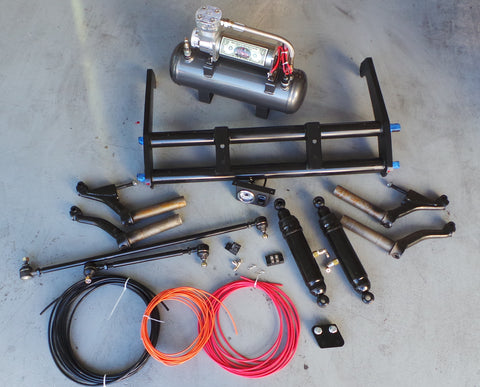 Classic VW DubAir Suspension System for Type 1 Beetle 66-77 (Excluding Super Beetle) - dubparts.com