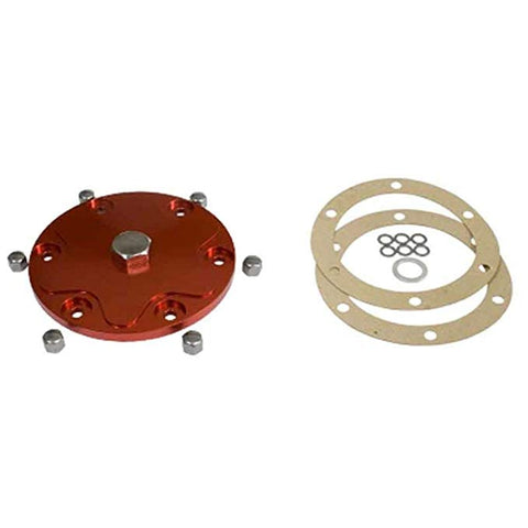 Classic VW Oil Drain Plate Red Empi 18-1087 - dubparts.com