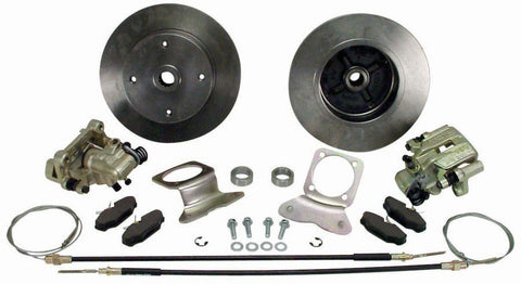 VW IRS 4 Lug Disc Brake Kit with E Brake Empi 22-2870-0 - dubparts.com