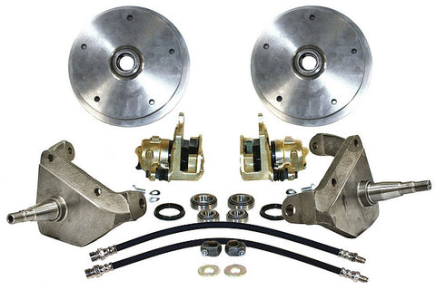 Classic VW Link Pin Dropped Spindle Disc Brake Kit Empi 22-2925 - dubparts.com