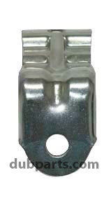 Classic VW Driving or Fog Light Bracket for Beetle Bumpers Empi 98-5408-B - dubparts.com