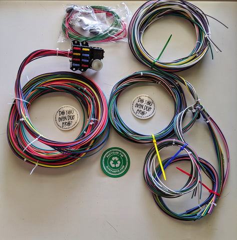 Classic VW Type 1, 181 & 3 Under Seat Wiring Kit - dubparts.com
