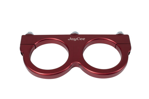 Classic VW Dual Coil Clamp Red JayCee JC-2193