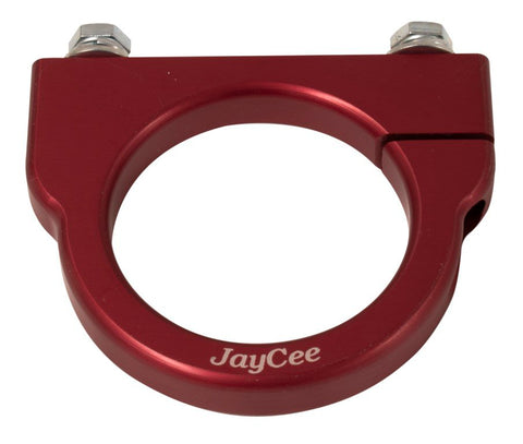 Classic VW Universal Billet Coil Clamp Red JayCee JC-2197 dupbarts.com