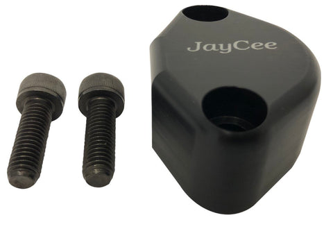 Classic VW Fuel Pump Block Off w/Breather Black JayCee JC-2234