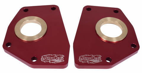 Classic VW Billet Spring Plate Retainer Red Pair JayCee JC-2253