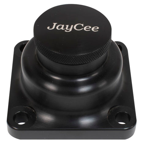 Classic VW Billet Oil Filler Tower Black JayCee JC-3100