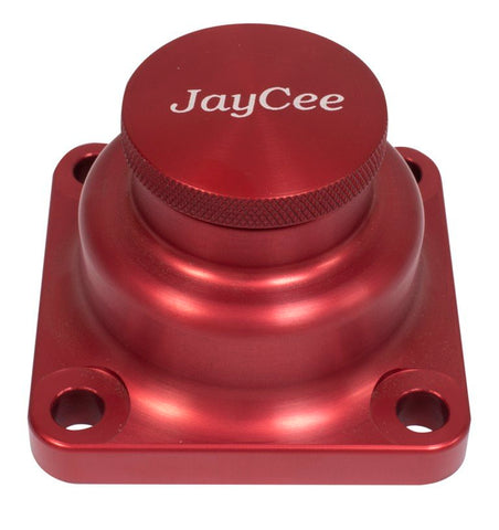Classic VW Billet Oil Fill Tower in Red JayCee JC-3101