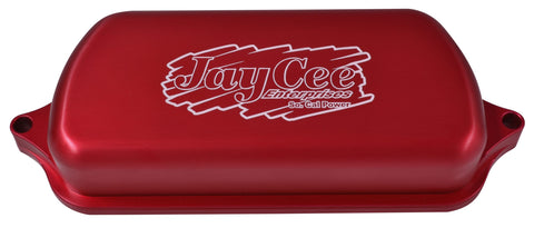Classic VW Billet Valve Covers in Red JayCee JC-3220