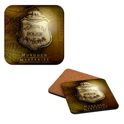 Toronto Police Badge Coaster Set