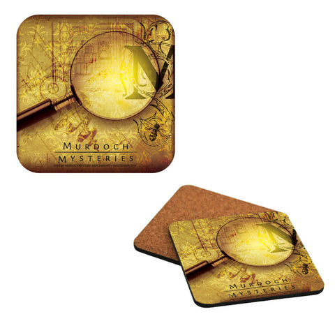 Magnifying Glass Coaster Set