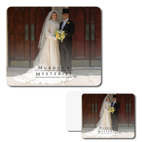 William and Julia Wedding Mouse Pad