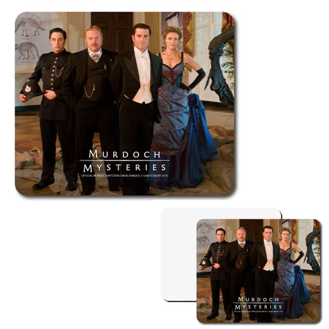 Murdoch Mysteries Cast Mouse Pad