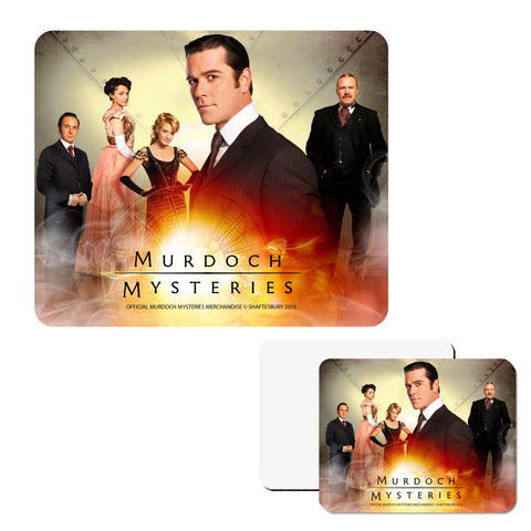 Murdoch Mysteries Steampunk Mouse Pad