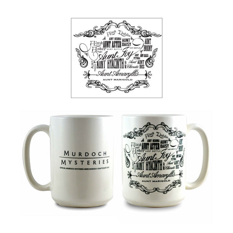 Murdoch Mysteries Aunts Ceramic Mug
