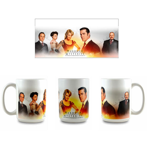 Murdoch Mysteries Cast Ceramic Mug