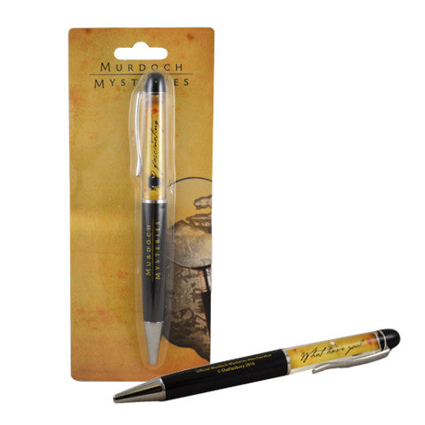 Murdoch Mysteries Floating Pen