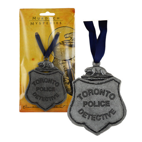 Toronto Police Badge Ornament