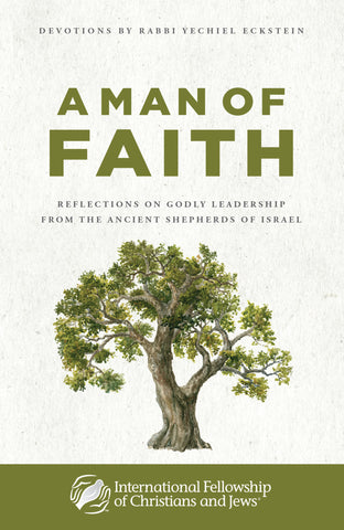 A Man of Faith: Devotional Book by Rabbi Eckstein