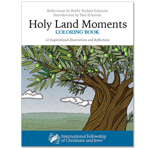 Holy Land Moments Coloring Book