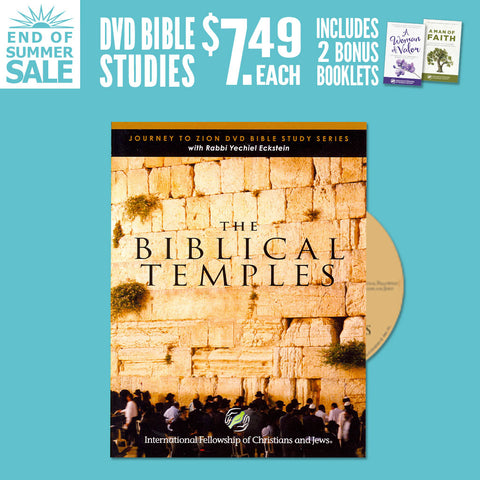 The Biblical Temples DVD Bible study w/bonus Woman of Valor and Man of Faith booklets