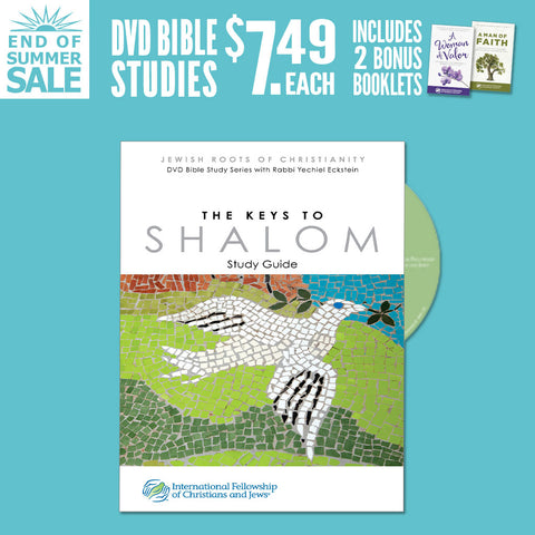 Keys to Shalom DVD Bible study w/bonus Woman of Valor and Man of Faith booklets