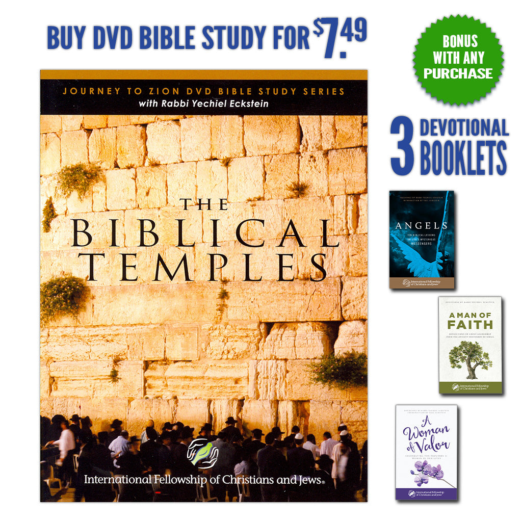 Biblical Temples with BONUS: Three Inspirational Booklets for You!