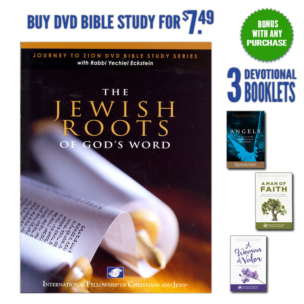 The Jewish Roots with BONUS: Three Inspirational Booklets for You!