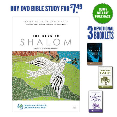 The Keys to Shalom with BONUS: Three Inspirational Booklets for You!