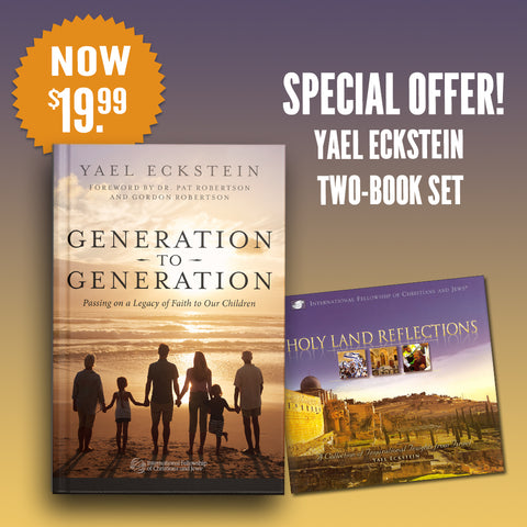 Generation to Generation book with bonus Holy Land Reflections