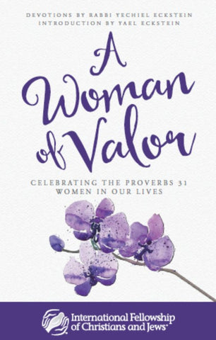 A Woman of Valor: Devotional Book by Rabbi Eckstein
