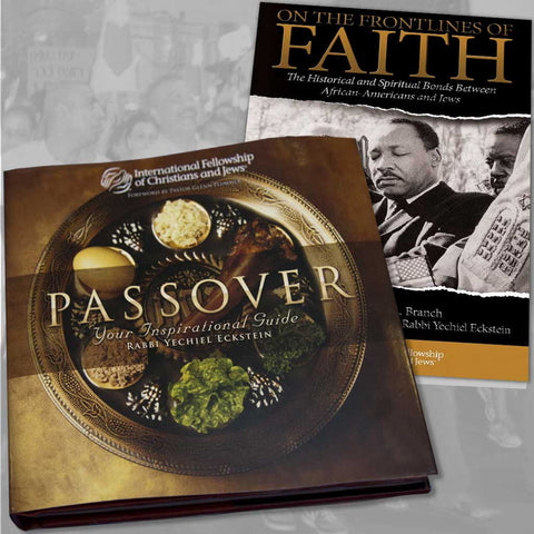 Passover Inspirational Guide with Bonus:  On the Frontlines of Faith booklet!