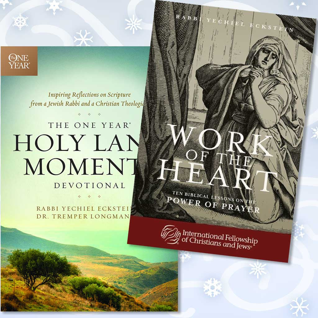 The One Year® Holy Land Moments Devotional with Bonus:  Work of the Heart