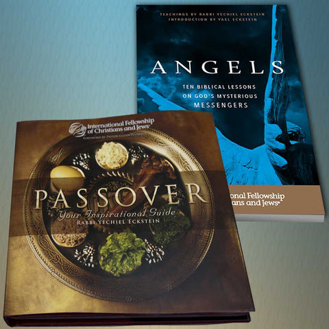 Passover Inspirational Guide with Bonus:  Angels:  Ten Biblical Lessons on God's Mysterious Messengers Booklet!