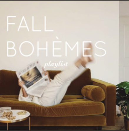 Listen to Our Fall Bohéme's Spotify Playlist