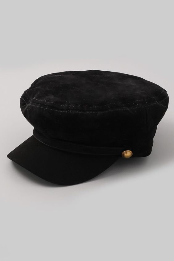Lieutenant Hat - Black